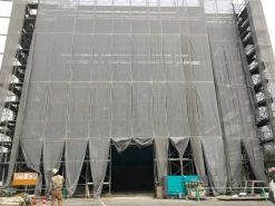 岡山市北区某建設会社増築工事