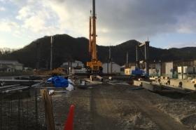 姫路市内某梱包資材倉庫新築工事