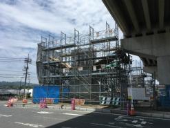 国道2号線BP高架橋工事(岡山県倉敷市)