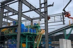 産廃リサイクルプラント新築工事(新潟県)