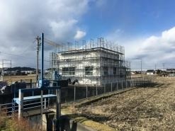 某排水機場改修工事(岡山県倉敷市)