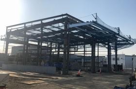 S工業(株)整備工場(奈良県大和郡山市)