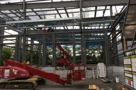T物流システム西多摩センター新築工事(東京都西多摩郡)