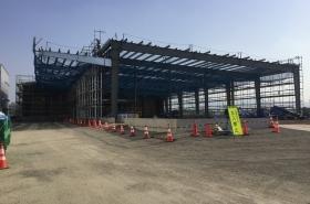 T工業 倉庫新築工事(奈良県北葛城郡)