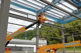Y電機工場新築工事(岡山県岡山市)